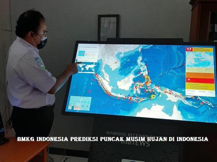 BMKG Indonesia Prediksi Puncak Musim Hujan di Indonesia