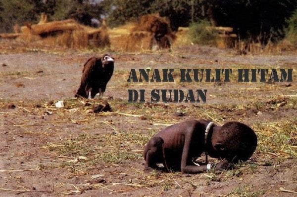 Anak kulit hitam di Sudan